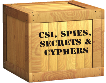 View our selection of CSI, Spies, Secrets and Cyphers camps!